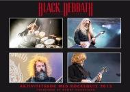 Black Debbath - Aktivitetsbok med rockequiz 2015